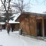 真冬の東北、雪遊びキャンプ場に行ってきた|青森県三沢市小川原湖畔