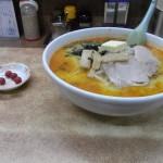 【味の札幌大西】少し辛い味噌カレー牛乳ラーメン 向かいの餃子もおすすめ