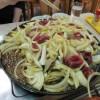 三沢市の赤のれんで熱々の十和田のバラ焼きを食べてきた