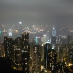 香港の100万ドルの夜景に酔う|ヴィクトリアピークで写真撮影