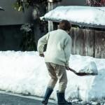「雪かきをする」は英語で何て言うの?英会話で冬の季節の話題を話しました