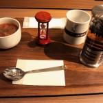 TSUTAYA八戸ニュータウン店内にあるカフェでブログ書いてきました